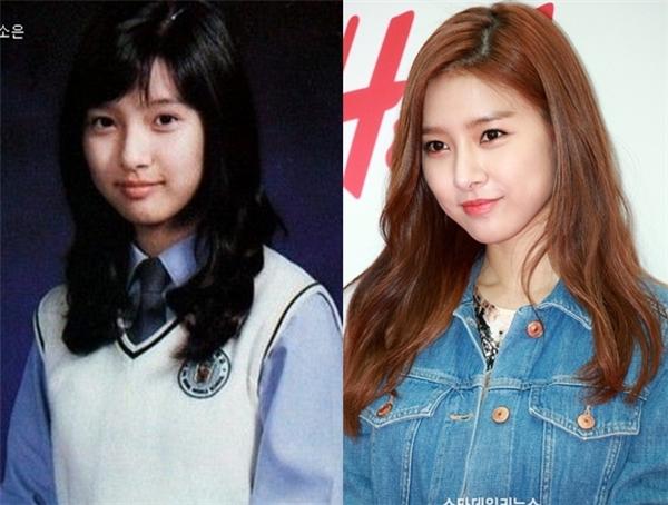Nỗ lực giảm cân đã giúp nhiều đường nét quyến rũ trên gương mặt củaKim So Eunhiện rõ hơn.