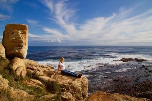 Nếu muốn sống trọn những khoảnh khắc cùng thiên nhiên hoang dã thật sự, bạn nên tìm đến Nam Phi, như ở mũi đất Goodhope đầy nắng gió này chẳng hạn.(Nguồn Internet)