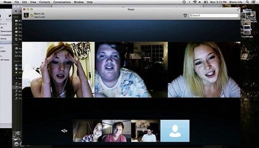 Tạm quên việc sử dụng Skype hay bất cứ ứng dụng trò chuyện miễn phí nào trong đêm Halloween nếu bạn không muốn lãnh một kết cục bi thảm như phim Unfriended.(Nguồn: Internet)