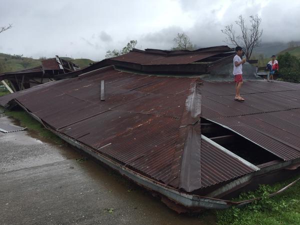 Hình ảnh về sức tàn phá khủng khiếp của siêu bão Koppu