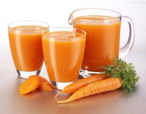 Cà rốt ngoài công dụng giúp đôi mắt trong sáng, nó còn có tác dụng trị tàn nhang rất hiệu quả.