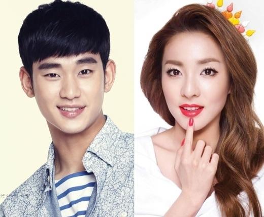 Xôn xao tin đồn Kim Soo Hyun hẹn hò Sohee
