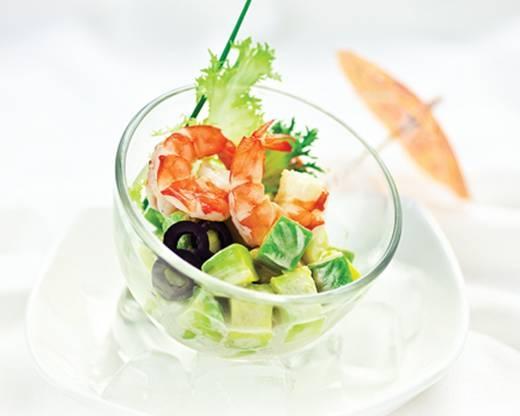 Salad trái bơ mát dịu, giàu dinh dưỡng. (Nguồn: Internet)