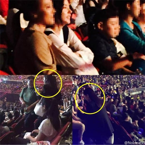 Min Hyo Rin mặc lịch trình bận rộn tại Hàn vẫn bay sang ủng hộ bạn trai.
