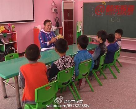 Lớp học trong những ngày bình thường.