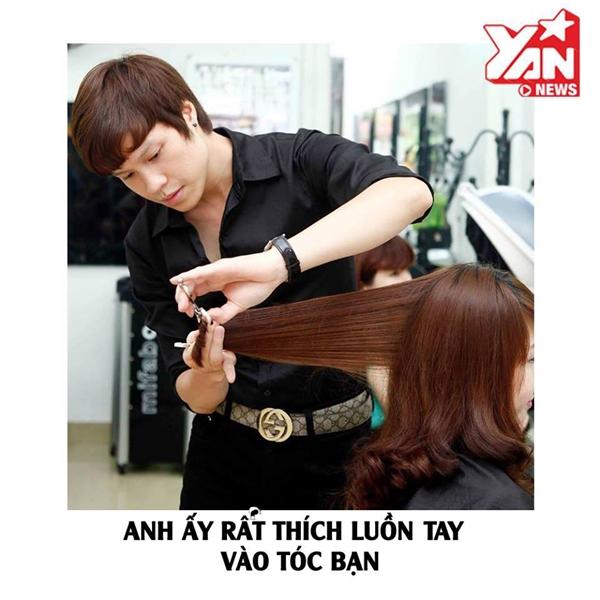 """Người yêu bạn từ """"chân tơ kẽ tóc"""", luôn hạnh phúc khi được chạm vào bạn!"""