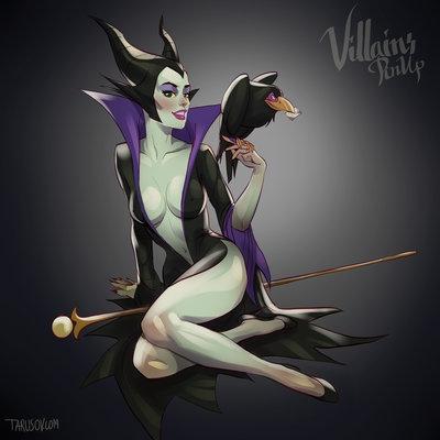 "Maleficent ""mơn mởn"" thời son trẻ."