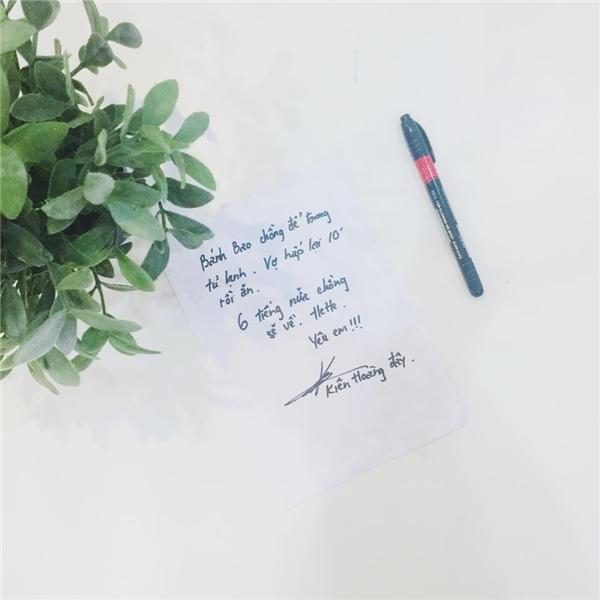 Lời nhắn gửi củaKiên Hoàngdành cho vợ khiến nhiều người ganh tị.(Ảnh: Internet)