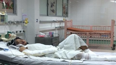 Linh nhập viện trong tình trạng nguy kịch. Ảnh: Internet