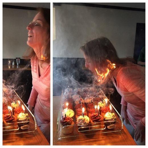 Đốt nến đủ rồi, không cần phải đốt thêm những thứ khác đâu! (Ảnh: Internet)