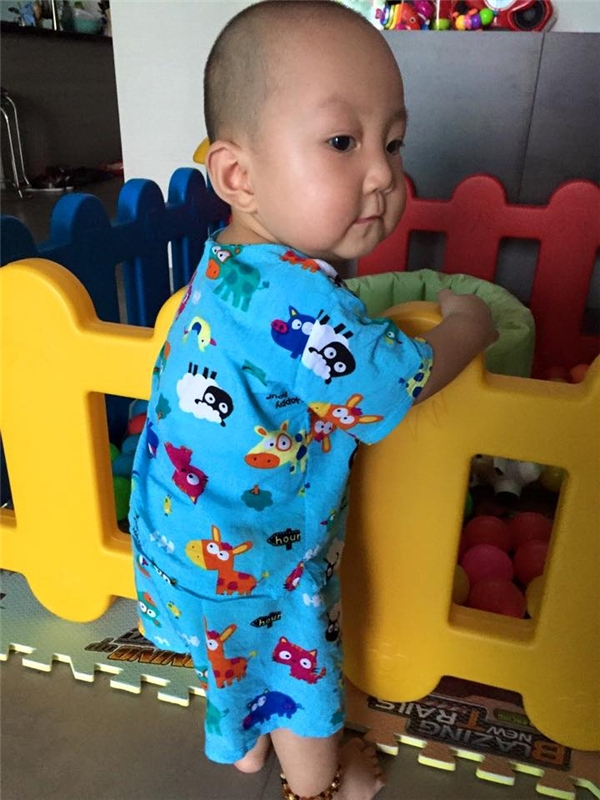 Dù mới được 1 tuổi nhưng trộm vía Su Hào đã rất cứng cáp. - Tin sao Viet - Tin tuc sao Viet - Scandal sao Viet - Tin tuc cua Sao - Tin cua Sao