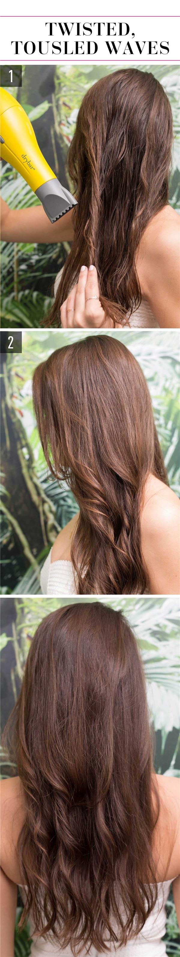 Những kiểu tóc đơn giản mà không tốn công dành cho cô nàng
