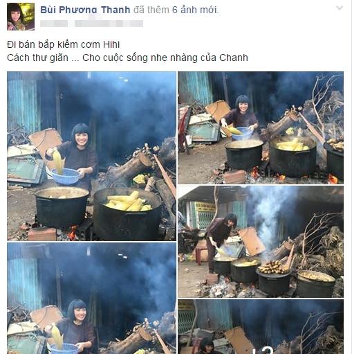 Phương Thanh hớn hở lên chùa bán… bắp luộc - Tin sao Viet - Tin tuc sao Viet - Scandal sao Viet - Tin tuc cua Sao - Tin cua Sao