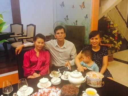 Hoài Lê cùngcả gia đình đang sống trong mộtcăn nhà khang trang và rộng rãi ở Thành phố Hồ Chí Minh.