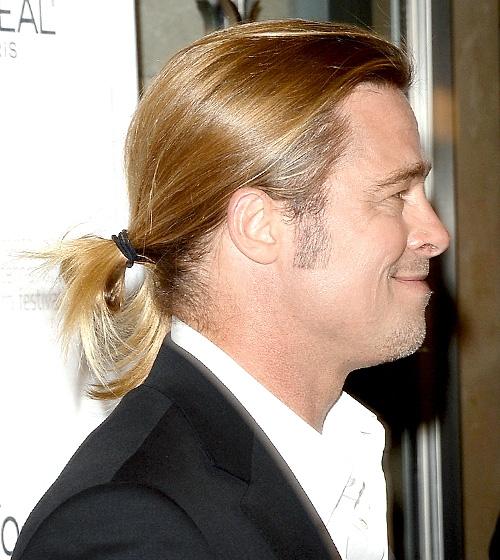 Mê mẩn với hình ảnh búi tóc lãng tử của sao nam Hollywood
