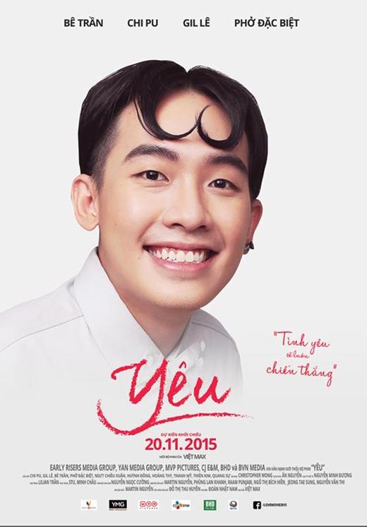 Phở Đặc Biệt trên poster phim Yêu. - Tin sao Viet - Tin tuc sao Viet - Scandal sao Viet - Tin tuc cua Sao - Tin cua Sao