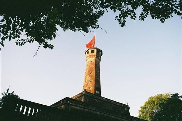 Cột cờ Hà Nội.(Ảnh: Internet)