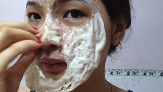 Tự làm mặt nạ collagen tươi