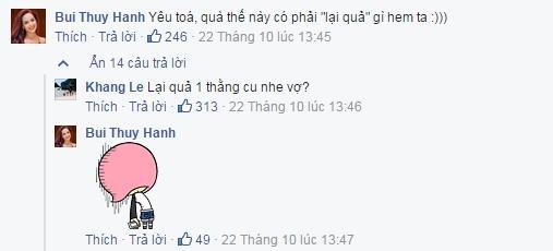 Đoạn đối thoại hài hước giữa hai vợ chồng. - Tin sao Viet - Tin tuc sao Viet - Scandal sao Viet - Tin tuc cua Sao - Tin cua Sao