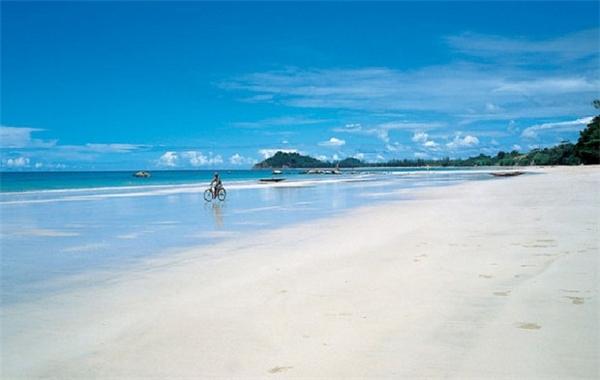 Biển, đảo Myanmar đẹp không thua gì Thái Lan.(Ảnh: Internet)