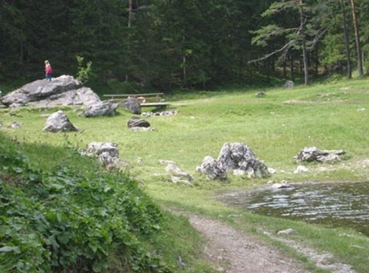 Công viênGrüner Seetrông không khác những công viên bình thường là bao. (Ảnh: Internet)