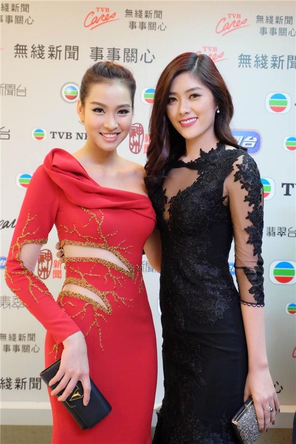 Diệu Huyền, Vương Thu Phương rạng rỡ mừng sinh nhật TVB - Tin sao Viet - Tin tuc sao Viet - Scandal sao Viet - Tin tuc cua Sao - Tin cua Sao