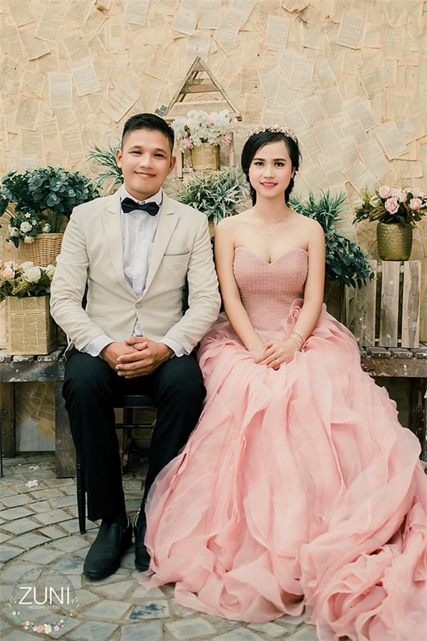 Cặp đôi thầy trò trong bộ ảnh cưới khiến nhiều người ghen tị. (Ảnh: Internet)