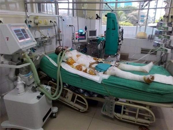 Bố con củaCông Thànhđã qua cơn nguy kịch và hiện đang dần hồi phục.(Ảnh:Internet)