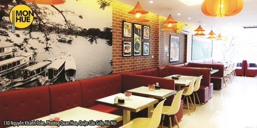 Nhà hàng Món Huế tri ân khách hàng tại Hà Nội