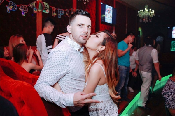 Hình ảnh hạnh phúc của cặp đôi đáng ghen tị này.(Ảnh: NVCC)