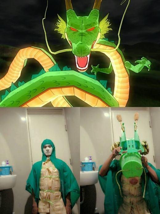 Có lẽ nếu rồng thiêng thực sự có ngoại hình này, Son Goku và nhóm bạn sẽ... chạy mất dép! (Ảnh: Internet)