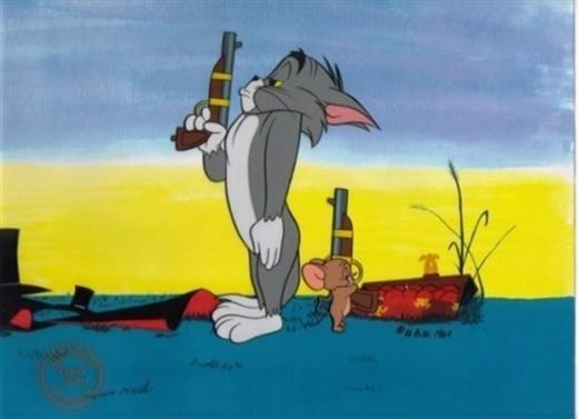 Tom thường xuyên là người thua cuộc trước Jerry.