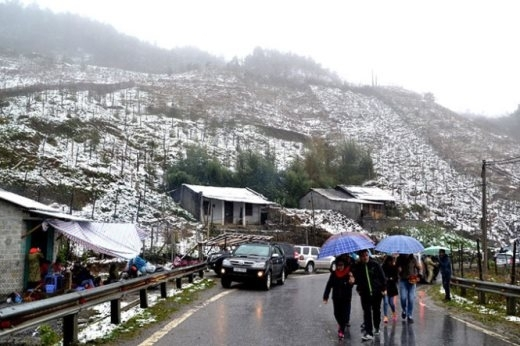 Mùa đông đến muộn, liệu Sa Pa sẽ có tuyết rơi?
