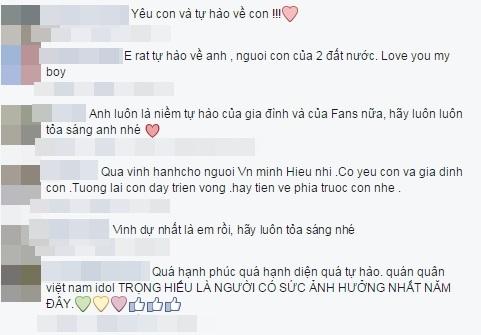 Hàng trăm người hâm mộ đã dành những lời khen tặng cho quán quân Vietnam Idol 2015. - Tin sao Viet - Tin tuc sao Viet - Scandal sao Viet - Tin tuc cua Sao - Tin cua Sao