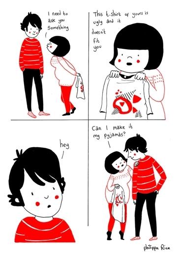 Đôi khi, nhận được những câu hỏi khó từ người yêu.