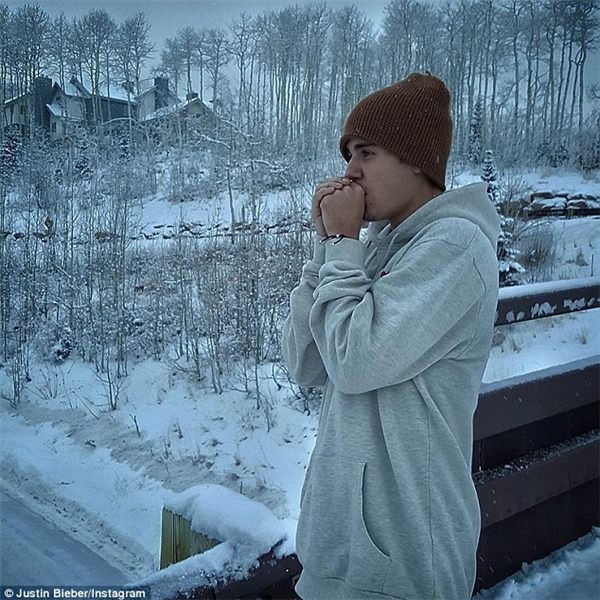 Những hình ảnh mới của Justin trên trang cá nhân.