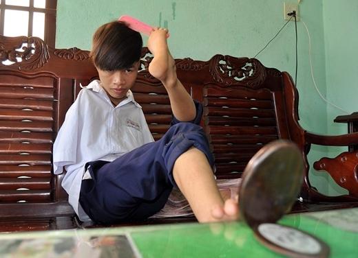 Nghị lực phi thường của những người khuyết tật vươn lên trong cuộc sống