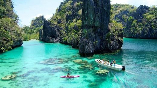 Hãy ghé thăm thiên đường nghỉ dưỡng ởCebu và Palawin(Philippines) để được diện kiến những cảnh đẹp mê hồn của tạo hóa.