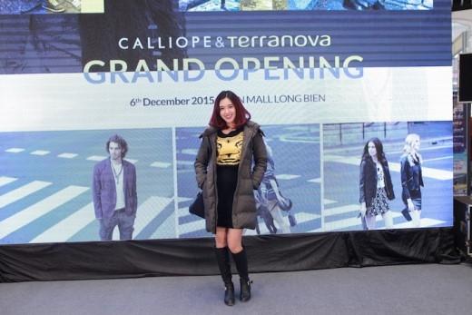 Hot Teen Hà Min tại Lễ khai trương Terranova và Calliope.