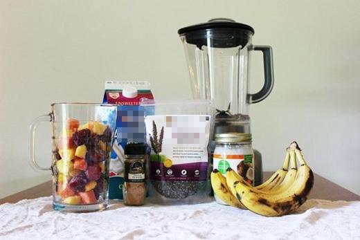 Các nguyên liệu lành mạnh nhưng không kém phần bổ dưỡng. (Ảnh: Buzzfeed)