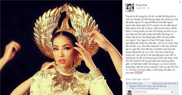 Cận cảnh chiếc mấn mạ vàng của Phạm Hương tại Miss Universe - Tin sao Viet - Tin tuc sao Viet - Scandal sao Viet - Tin tuc cua Sao - Tin cua Sao
