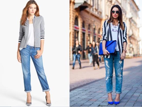 Mặc jeans đi làm, tại sao không!