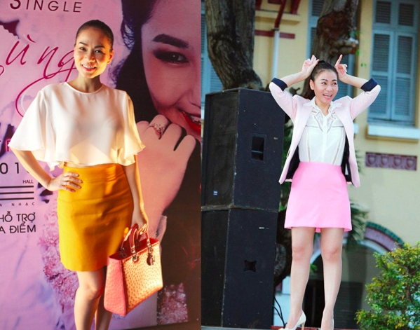 12 điểm nhấn trong phong cách thời trang của Thu Minh