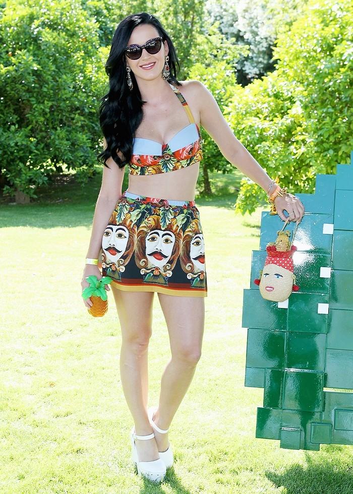 10 trang phục ấn tượng của Katy Perry