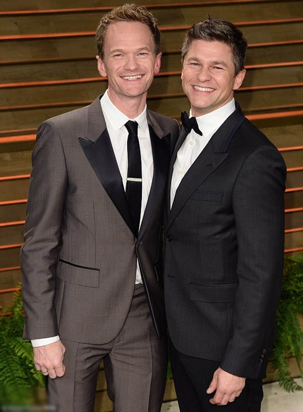 5 cặp đôi đồng tính hạnh phúc và nổi tiếng nhất Hollywood
