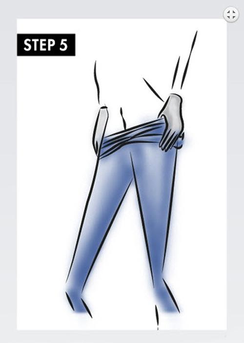 5 bước cơ bản giúp mặc quần vớ không lo bị rách