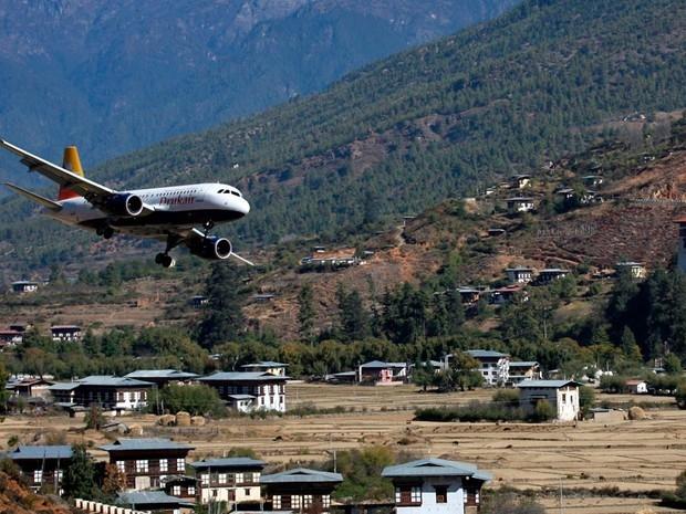 các sân bay nguy hiểm nhất thế giới