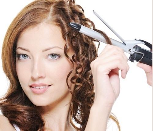 sai lầm khi dùng máy uốn tóc