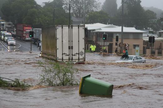 Lũ lụt... (Ảnh: Internet)