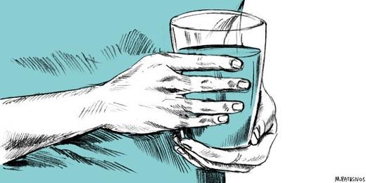 Nước cũng ảnh hưởng đến tâm lí của bạn. (Ảnh: Internet)